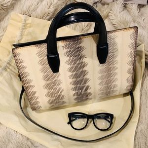 Alexander Wang Leather Reptile Bag